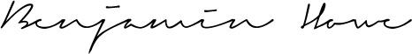 ben signature