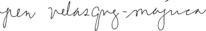 pen signature